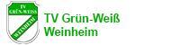 Die offizielle Webseite des TV Grün-Weiß Weinheim e. V. Logo